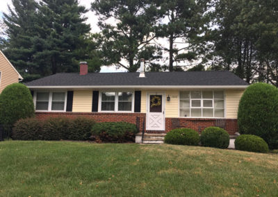 Vinyl siding roof and bay windows Baltimore County MD