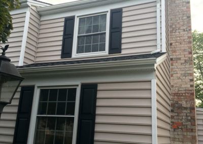 siding shutters and downspouts Cockeysville MD